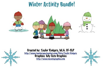 Winter Activity Bundle