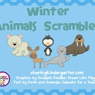 Winter Animal Scrambles