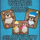 Winter Bear Craftivity - Writing Activities and Literacy Centers