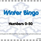 Winter Bingo-for a variety of levels