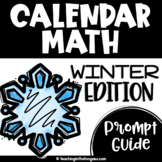 Winter Calendar Math Routines Script