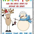 Winter Centers for Math and Literacy