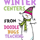 Winter Centers {perfect pocket chart activities} for first grade