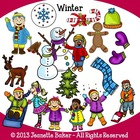 Winter Clip Art by Jeanette Baker