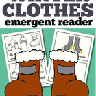 Winter Clothes Emergent Reader