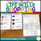 Winter Clothes Shopping: Functional Literacy and Math Skil