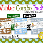 Winter Combo Pack Sentence Builders