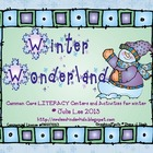 Winter Common Core Literacy Centers