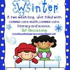 Winter - Common Core Math, Common Core Literacy & Science