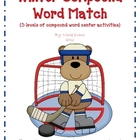 Winter Compound Word Match