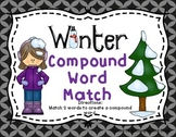 Winter Compound Words Literacy Center  Stations, Tubs, and