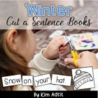 Winter Cut a Sentence - Using High Frequency Words