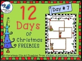 Winter Frames 8 FREE graphics (Whimsy Workshop Teaching)