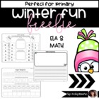 Winter Fun Worksheets  {FREEBIE}
