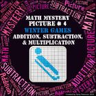 Winter Games Math Mystery Picture #4  ~ Addition, Subtract
