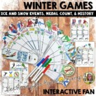 Winter Games: Reading Informational Text- Flip Flap Book a