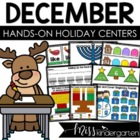 December Games and Centers {bundled}
