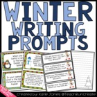 Winter Holiday Writing {Writing Prompts for the Common Core}