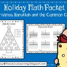 Winter Holidays Math Packet