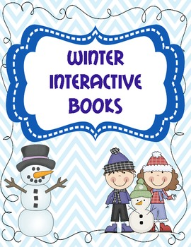 Winter Interactive Emergent Readers