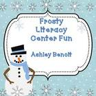 Winter  Literacy Center Packet {8 Centers}