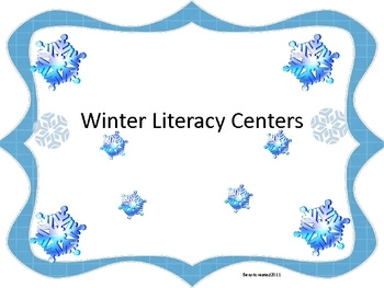 Winter Literacy Fun