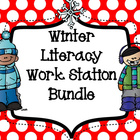 Winter Literacy Work Station Bundle - Word Work,Sight Word