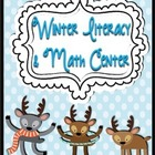 Winter Literacy and Math Activity Center