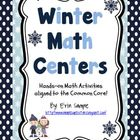 Winter Math Centers- Common Core