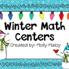 Winter Math Centers (Grades 3-5)