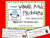 Winter Math Journal Entries (Common Core Aligned)