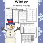 Winter Math & Literacy Printable Packet