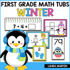 Winter Math Tubs-First Grade Common Core Activities