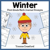 Winter Mathbooking - Math Journal Prompts (First Grade) -