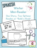 "Winter Mini Book: Reader or ""Build a Book"" (Spanish)"