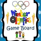 Winter Olympic Games: fun student game board and Olympic trivia
