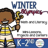 Winter Olympic Literacy Fun Pack