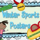 Winter Olympic Sports Posters {Editable}