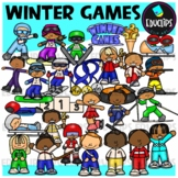 Winter Sports Clip Art Bundle