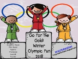 Winter Olympics *Go for the Gold*   Games, Activities and