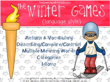 Winter Sports: Language Style