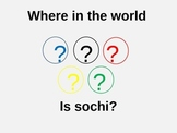 Winter Olympics:  Where In The World Is Sochi?