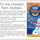 Winter Pasta Shapes Math Stations