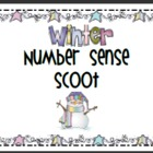 Winter Place Value and Number Sense Scoot