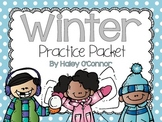 Winter Practice Packet {No Prep}