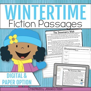 Winter Reading Comprehension Pack