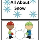 Winter Snow Reader - All About Snow""""
