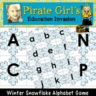 Winter Snowflake Alphabet Game