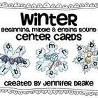 Winter Snowflake Beginning, Middle & Ending Sound Center C