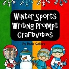 Winter Sports Writing Prompt Craftivities: Olympic Winter Games